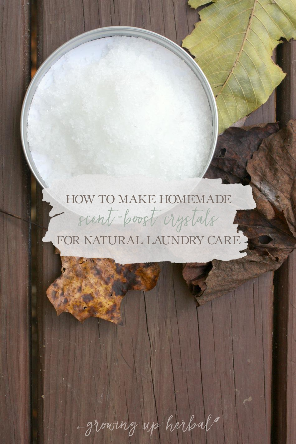 How To Make Homemade Scent Boost Crystals For Natural