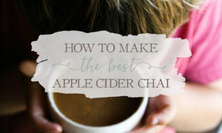 How To Make The Best Apple Cider Chai – And Warm Little Bodies