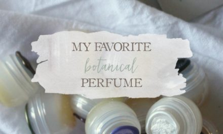 My Favorite Botanical Perfume