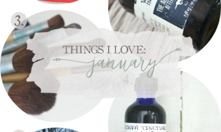 Things I Love: January 2016