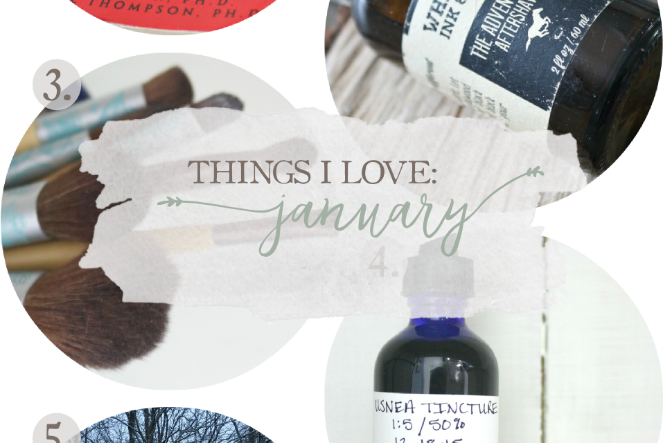 Things I Love: January 2016