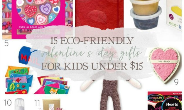 15 Eco-Friendly Valentine's Day Gifts For Kids Under $15