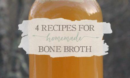 4 Recipes for Homemade Bone Broth