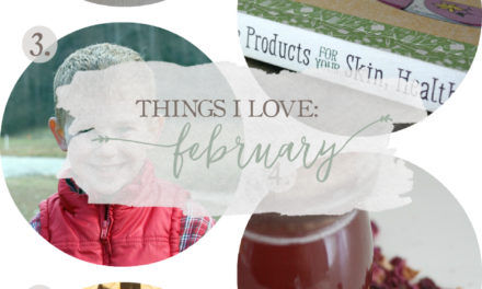 Things I Love: February 2016