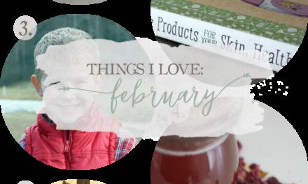 Things I Love: February 2016