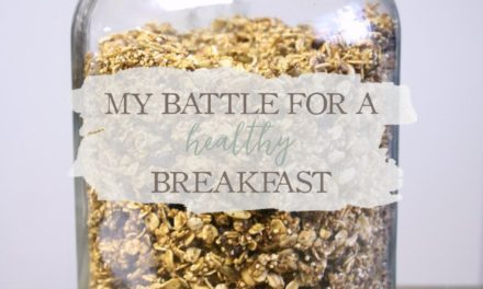 Meal Planning Monday: My Battle For A Healthy Breakfast