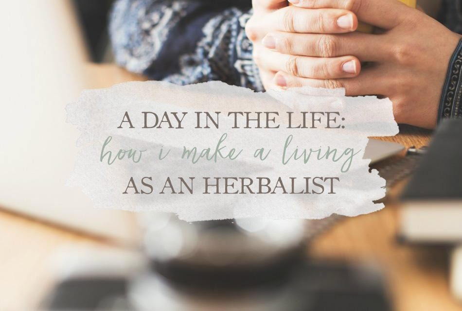 A Day In The Life: How I Make A Living As An Herbalist