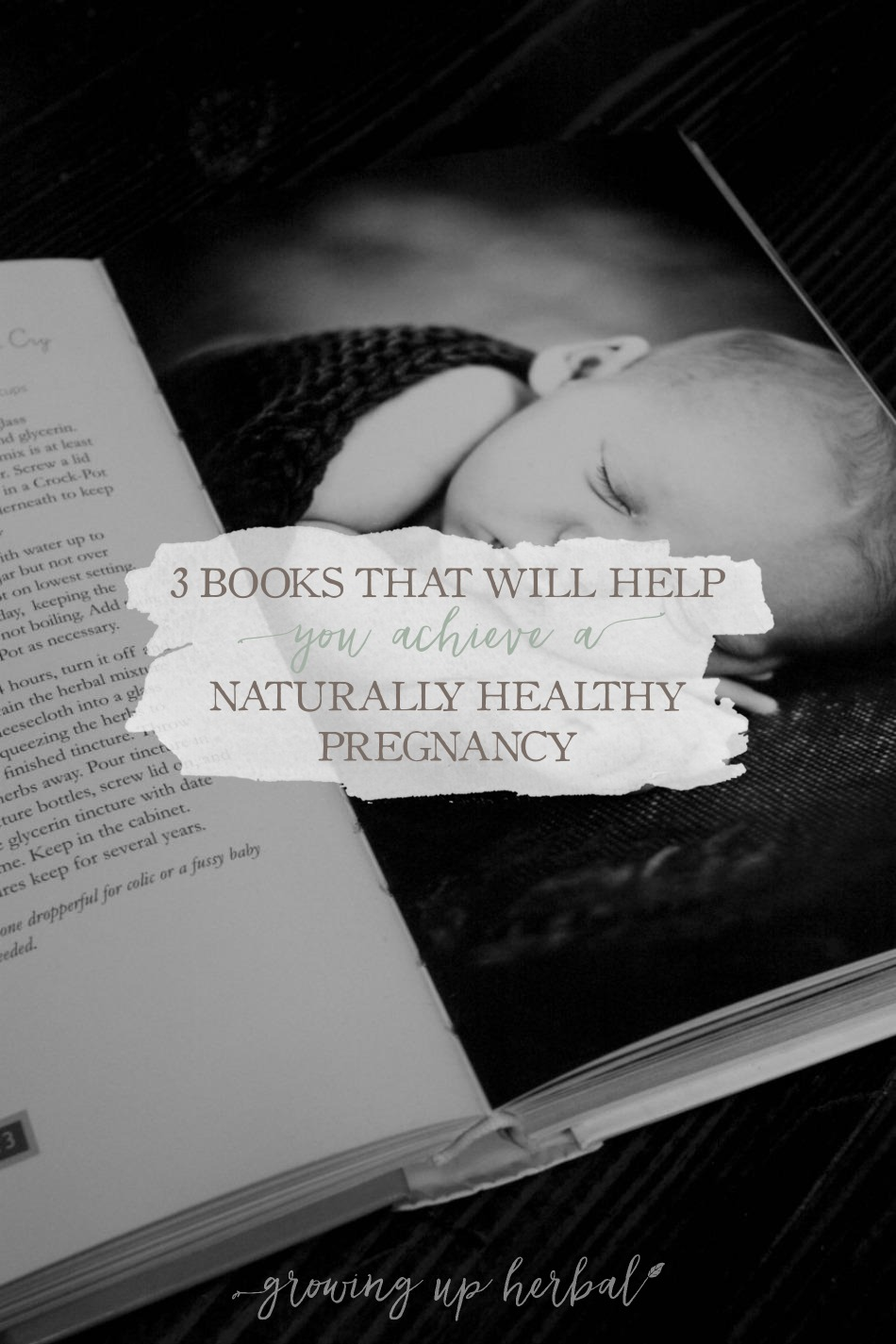3 Books That Will Help You Achieve A Naturally Healthy Pregnancy