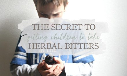 The Secret To Getting Children To Take Herbal Bitters