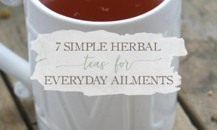 7 Simple Herbal Teas For Everyday Ailments