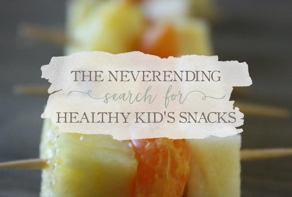 Meal Planning Monday: The Never-Ending Search For Healthy Kids Snacks