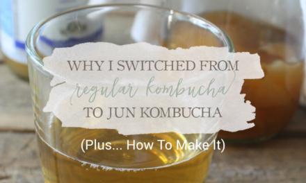 Why I Switched From Regular Kombucha To Jun Kombucha (+ How To Make It)