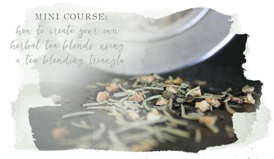 Mini Course How To Create Your Own Herbal Tea Blends