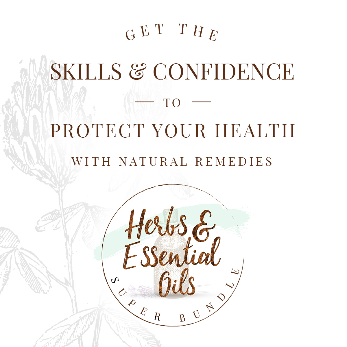 Take Charge Of Your Family's Health With The Herbs & Essential Oils Super Bundle | Growing Up Herbal | Learn how to take charge of your family's health confidently, safely, and effectively!