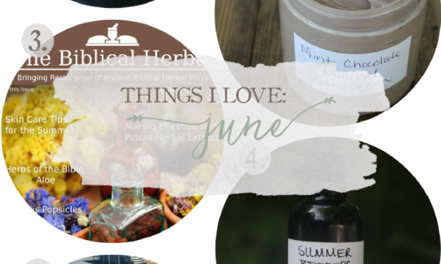 Things I Love: June 2016