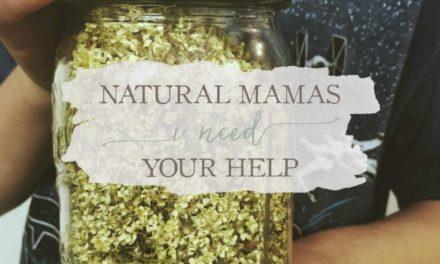 Natural Mamas – I Need Your Help!