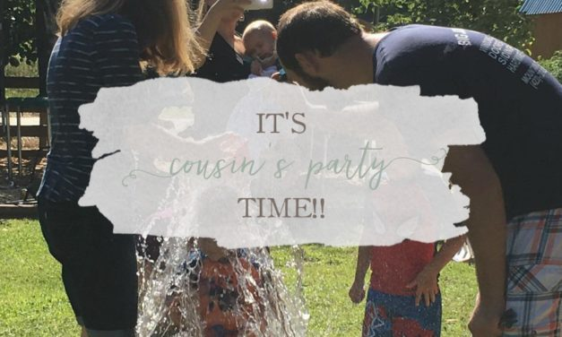 It's Cousin's Party Time!!