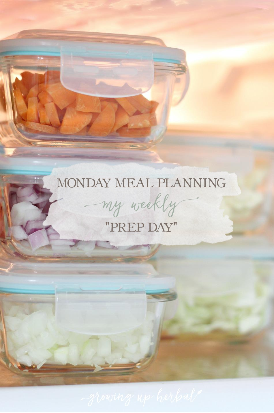 "Meal Planning Monday: My Weekly ""Prep Day"""