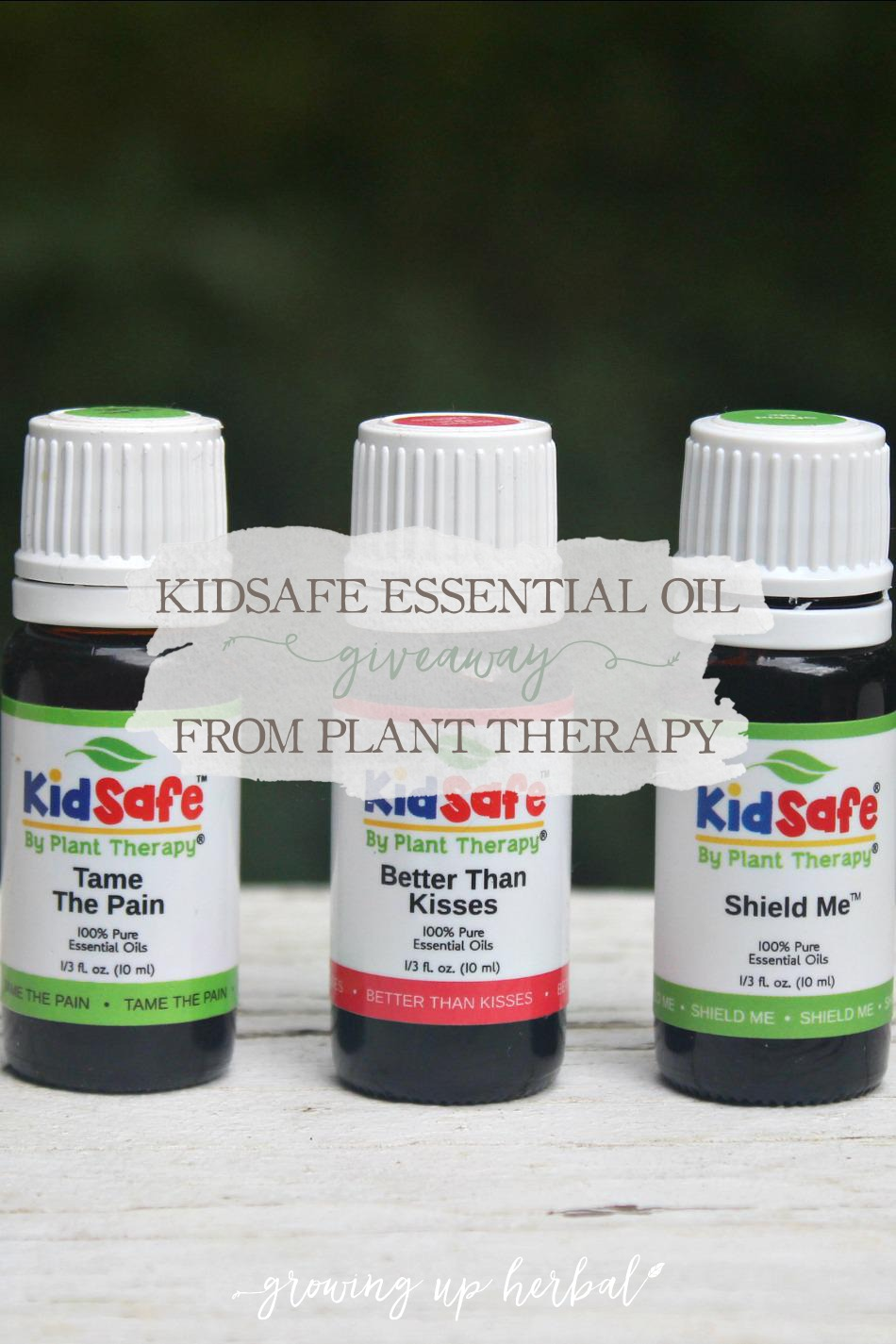 KidSafe Essential Oil Giveaway From Plant Therapy