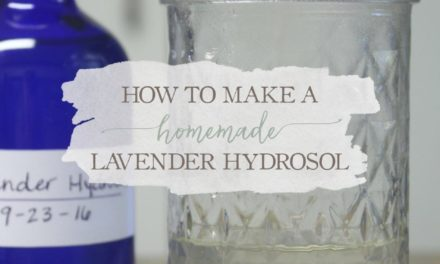 How To Make A Homemade Lavender Hydrosol