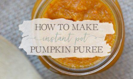 How To Make Instant Pot Pumpkin Puree