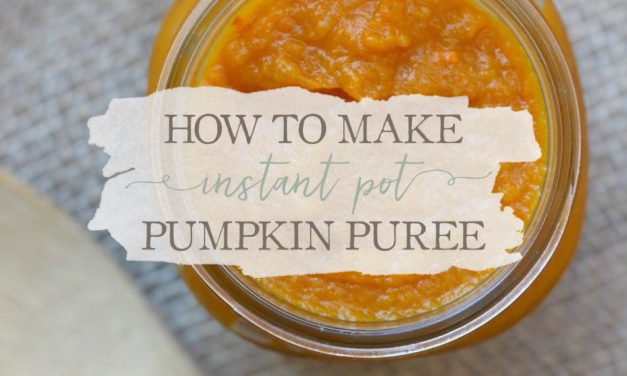 How To Make Instant Pot Pumpkin Puree
