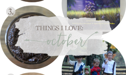Things I Love: October 2016