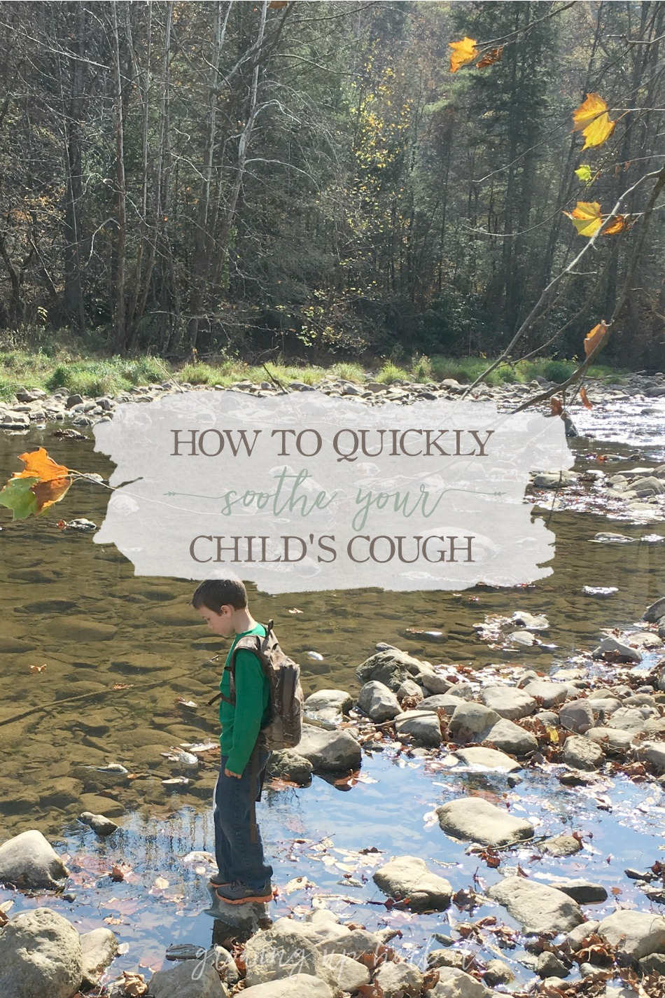 How To Quickly Soothe Your Child's Cough – Without Using Over-The-Counter Cough Medications