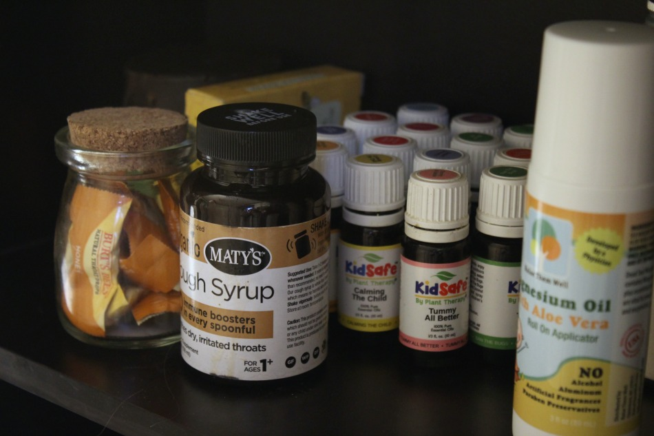 A Sneak Peek Inside My Natural Medicine Cabinet | Growing Up Herbal | Come see what natural remedies I keep stocked in my home for first aid situations and other everyday ailments.
