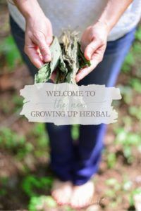 Welcome To The NEW Growing Up Herbal! (Win Some Natural Mama Prizes!) | Growing Up Herbal | Join me as I celebrate the launch of my new website design. I'm hosting some fun contests and giving away some amazing natural mama prizes all week! Come check it out!