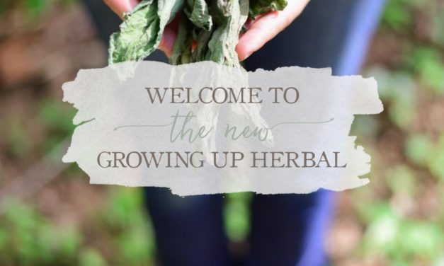 Welcome To The NEW Growing Up Herbal! (Win Some Natural Mama Prizes!)