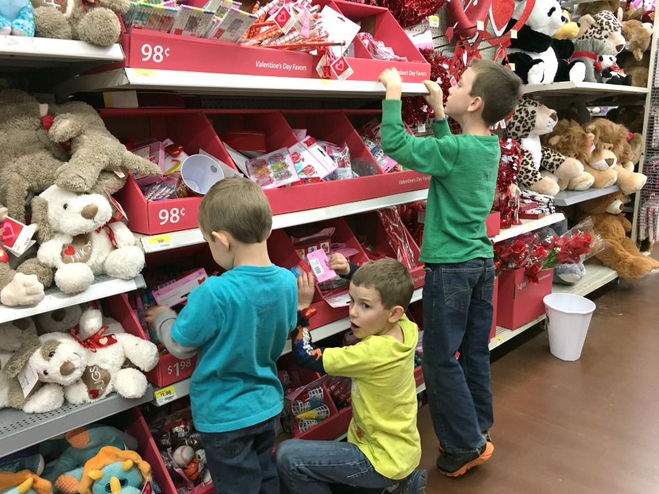A Day In The Life: Making Valentine's Day Gift Packs For The Cousins | Growing Up Herbal | Today, I'm sharing how my boys make Valentine's Day gift packs for their cousins. Get a glimpse into our life!