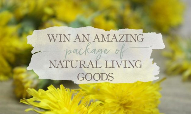 Win An Amazing Package of Natural Living Goods