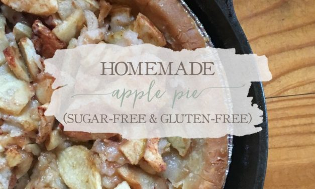 Homemade Apple Pie (Gluten-Free & Sugar-Free)