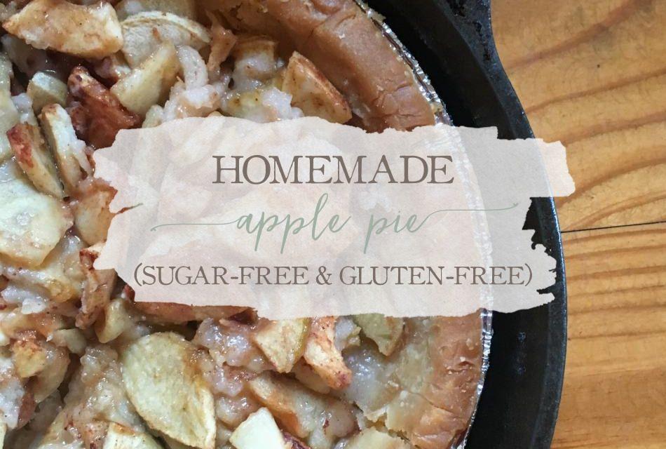 Homemade Apple Pie (Gluten-Free & Sugar-Free)