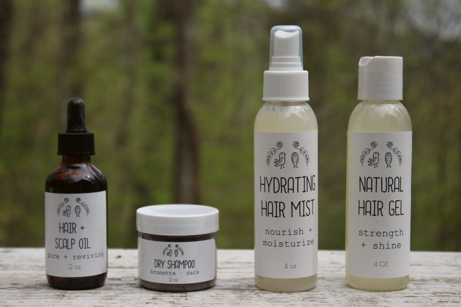 Mother's Day Giveaway: Win Some Natural Hair Care Products For Yourself & A Friend | Growing Up Herbal | Enter to win some natural hair care products from Lark & Owl on Etsy!