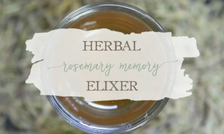 Herbal Rosemary Memory Elixir