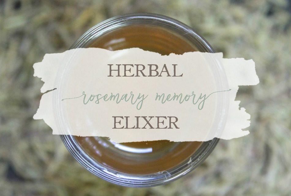 Herbal Rosemary Memory Elixir