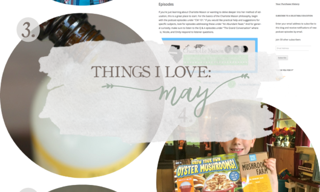 Things I Love: May 2017