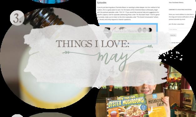 Things I Love: May 2017