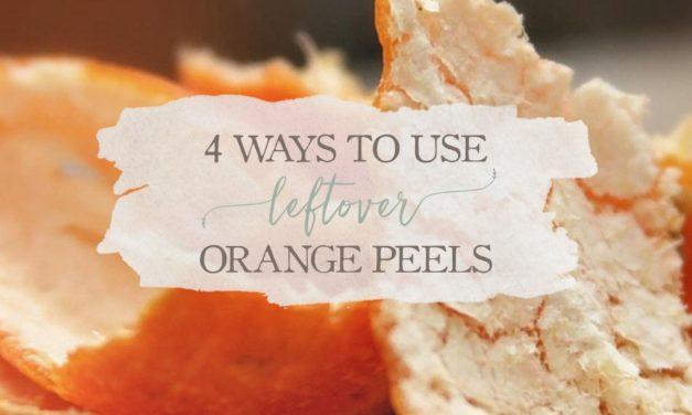 4 Ways To Use Leftover Orange Peels
