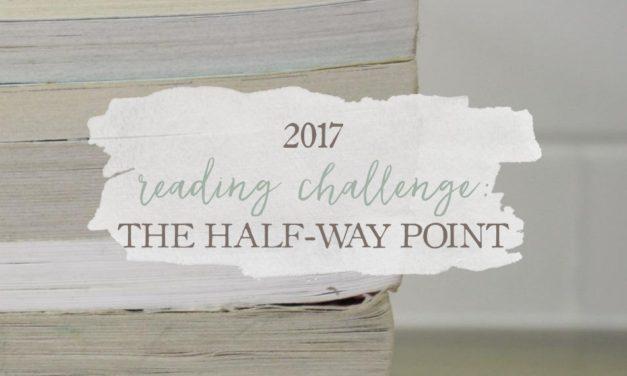 2017 Reading Challenge: The Half-Way Point