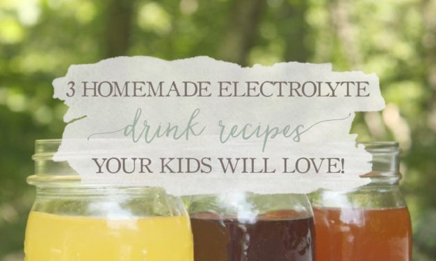 3 Homemade Electrolyte Drink Recipes Your Kids Will Love