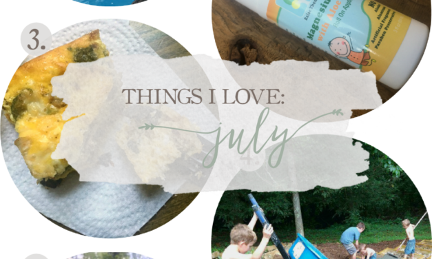 Things I Love: July 2017