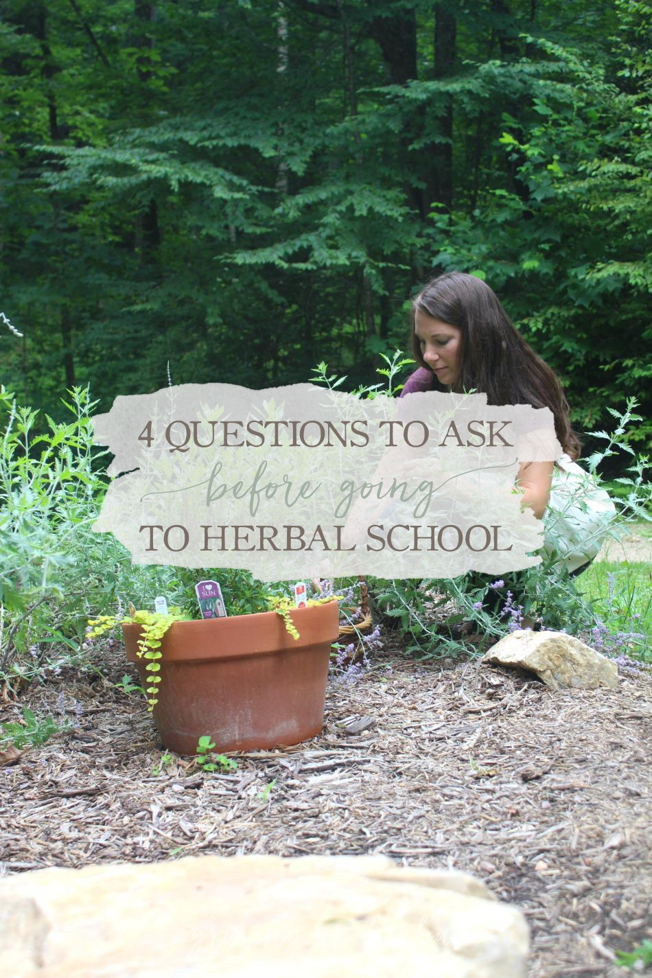 4 Questions To Ask Before Going To Herbal School | Growing Up Herbal | Thinking about going to herbal school, but you're not quite sure if it's for you? Ask yourself these questions first!