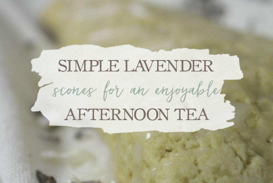 Simple Lavender Scones for an Enjoyable Afternoon Tea