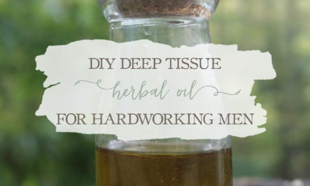 DIY Deep Tissue Herbal Oil For Hardworking Men