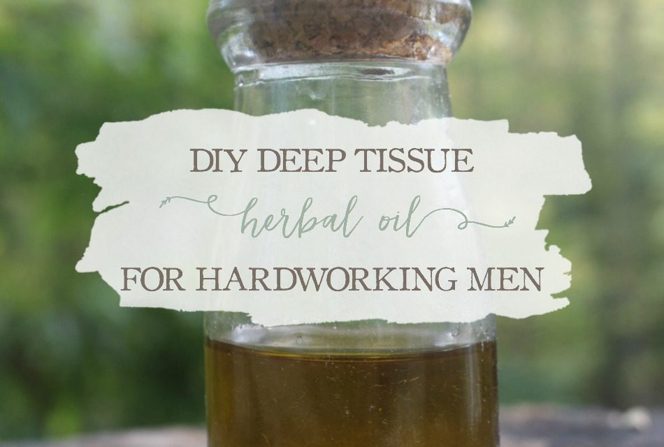 DIY Deep Tissue Herbal Oil For Hardworking Men