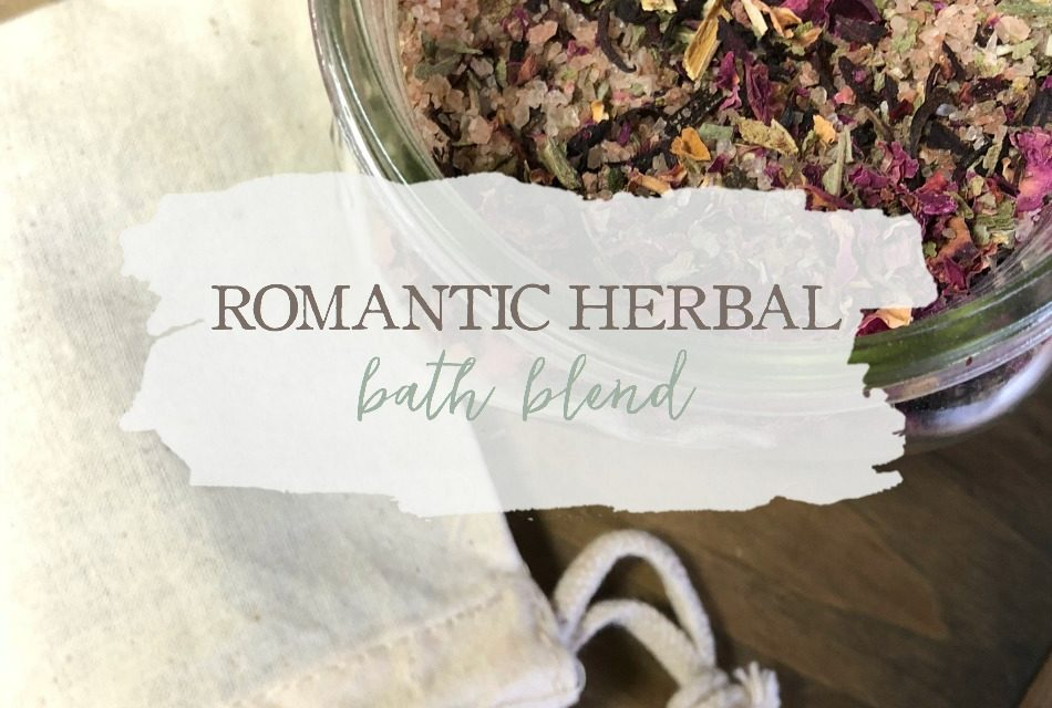 Romantic Herbal Bath Blend (Just In Time For Valentine's Day)