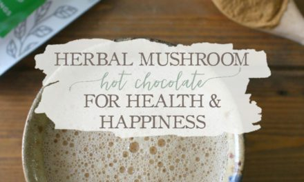 Herbal Mushroom Hot Chocolate For Health & Happiness